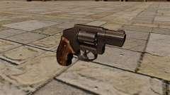 38 Special Snubnose revolver.