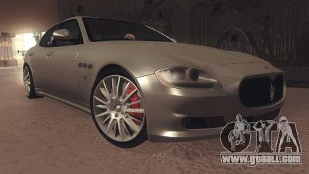 Maserati Quattroporte 2012 for GTA San Andreas