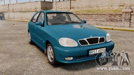 Daewoo Lanos PL 2001 for GTA 4