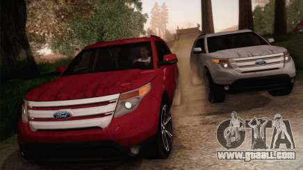 Ford Explorer 2013 for GTA San Andreas