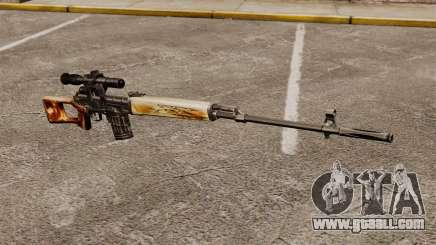 Dragunov sniper rifle v1 for GTA 4