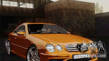 Mercedes-Benz CL65 for GTA San Andreas