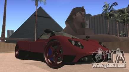 Pagani Zonda for GTA San Andreas