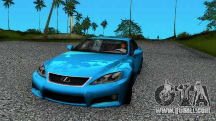 Lexus IS-F for GTA Vice City