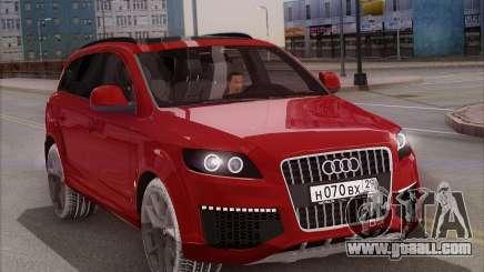 Audi Q7 Winter for GTA San Andreas