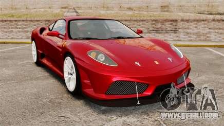 Ferrari F430 Scuderia 2007 for GTA 4