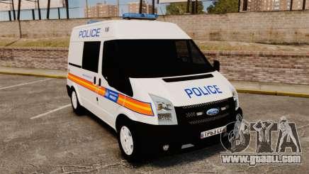 Ford Transit 2013 Police [ELS] for GTA 4