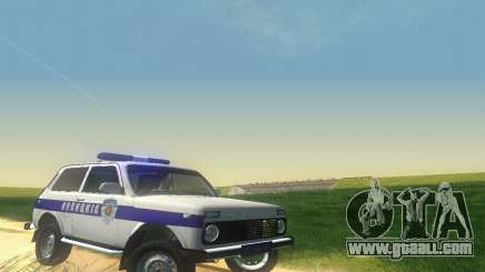 Lada Niva Patrola for GTA San Andreas