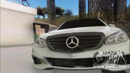 Mercedes-Benz W212 AMG v2.0 for GTA San Andreas