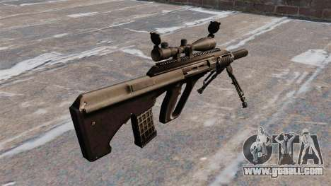 Automatic rifle Steyr AUG3 for GTA 4 second screenshot