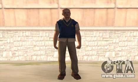 Jimmy Hopkins for GTA San Andreas