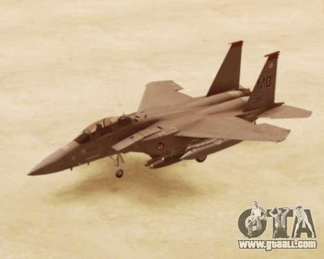F-15E Strike Eagle for GTA San Andreas