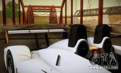 Caterham-Lola SP300.R for GTA San Andreas upper view