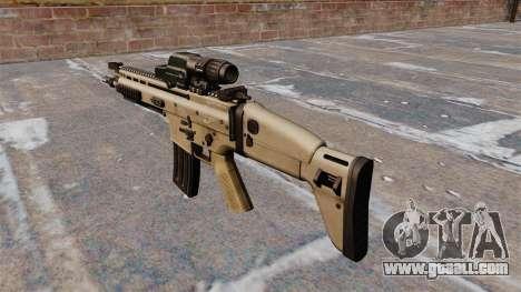 FN SCAR assault rifle for GTA 4 second screenshot