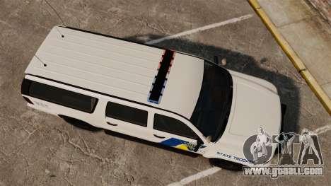 GTA V Declasse Police Ranger LCPD [ELS] for GTA 4 right view
