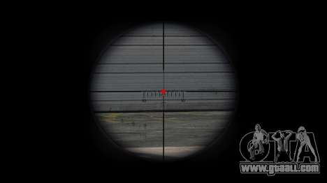Sniper rifle CheyTac Intervention for GTA 4 forth screenshot