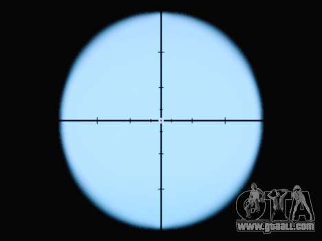 The new rifle sight for GTA San Andreas
