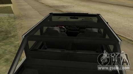 Crusader GTA 5 for GTA San Andreas back view
