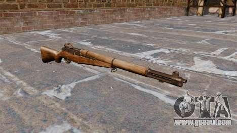 Self-loading rifle M1 Garand v1.1 for GTA 4