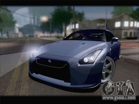 Nissan GT-R Spec V Stance for GTA San Andreas right view