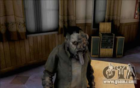Left 4 Dead Smoker for GTA San Andreas third screenshot