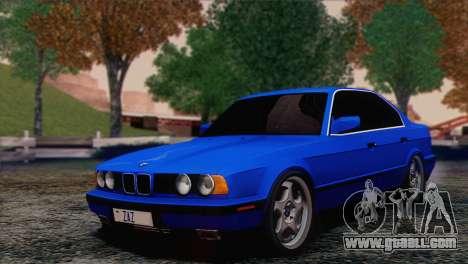 BMW 535i E34 Mafia Style for GTA San Andreas