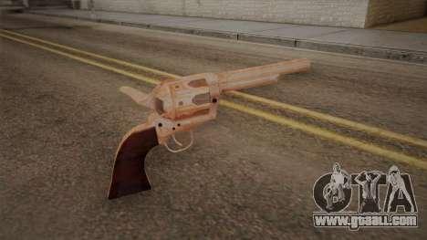 Colt Peacemaker (Chrome) for GTA San Andreas