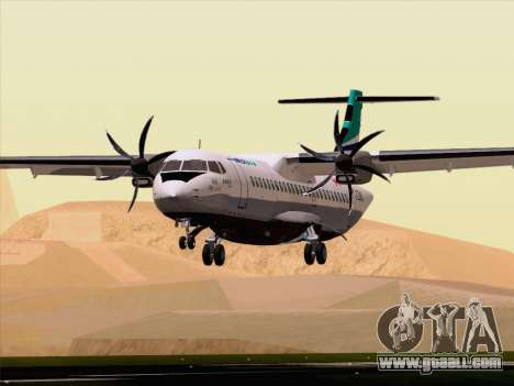 ATR 72-500 WestJet Airlines for GTA San Andreas bottom view