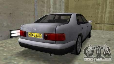 Audi A8 VCM for GTA Vice City left view