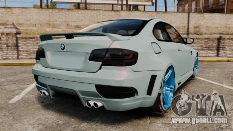 BMW M3 GTS Widebody for GTA 4 back left view