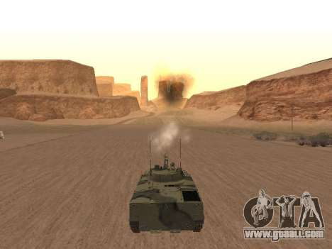 BMP-3 for GTA San Andreas right view