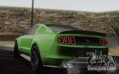 Ford Mustang GT 2013 for GTA San Andreas left view