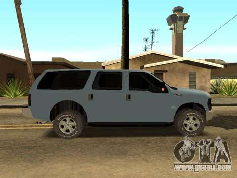 Ford Excursion for GTA San Andreas back left view