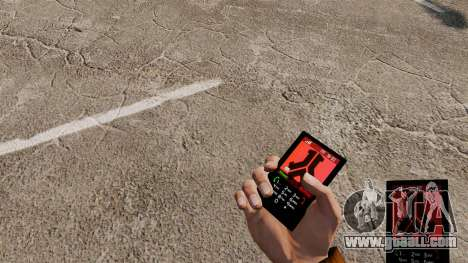 The theme for the phone Defqon for GTA 4
