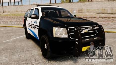 Chevrolet Tahoe 2008 Federal Signal Valor [ELS] for GTA 4