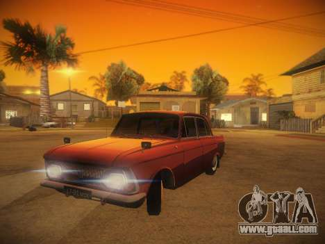 IZH 412 v. 1 for GTA San Andreas