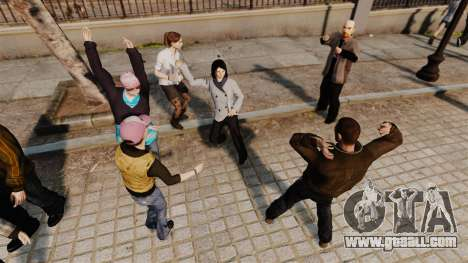 The Script-Dance- for GTA 4 forth screenshot