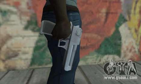 Desert Eagle from Saints Row 2 for GTA San Andreas third screenshot