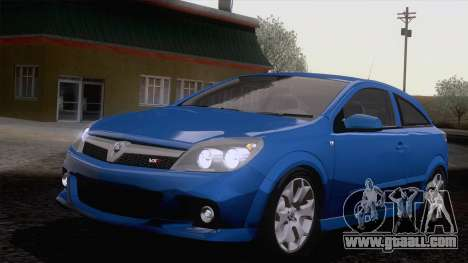 Vauxhall Astra VXR  2007 for GTA San Andreas back view
