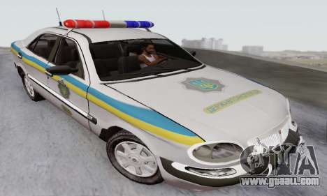GAS-3111 Miliciâ Ukraine for GTA San Andreas
