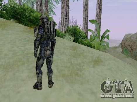 Master Chief for GTA San Andreas fifth screenshot