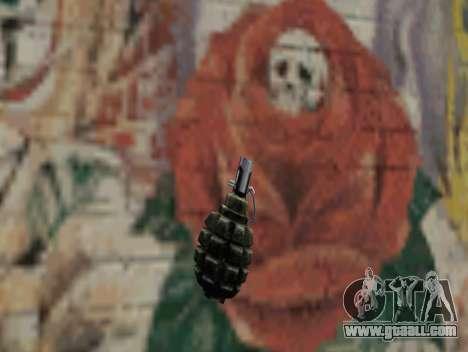 Pomegranate of S.T.A.L.K.E.R. for GTA San Andreas