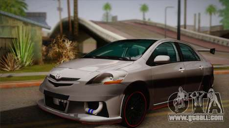 Toyota Vios Slalom Edition for GTA San Andreas