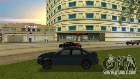 Audi A6 2012 for GTA Vice City left view