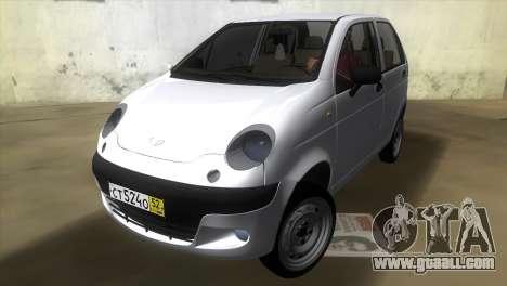 Daewoo Matiz for GTA Vice City