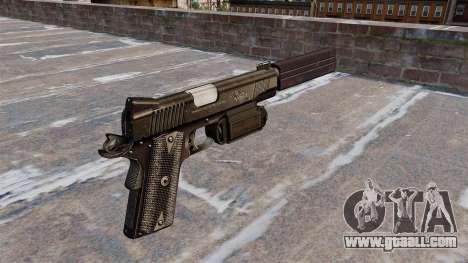 Gun Colt 45 Kimber for GTA 4 second screenshot