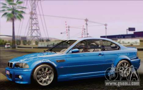 BMW M3 E46 2005 for GTA San Andreas