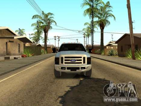 Ford Excursion for GTA San Andreas back view