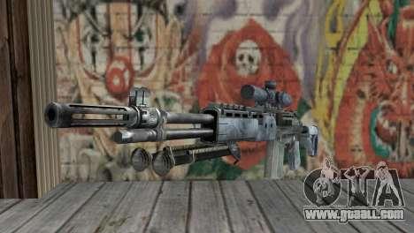 M14 EBR Blue Tiger for GTA San Andreas