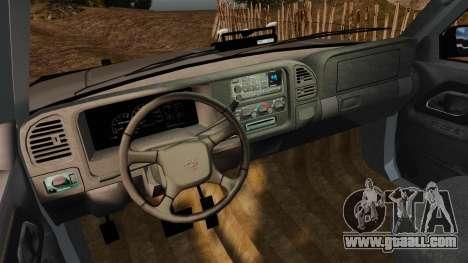 Chevrolet Suburban 1999 Police [ELS] for GTA 4 back view